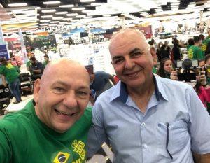 Luciano Hang e Fouad